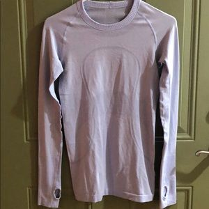 Lululemon women's tech swiftly long sleeve